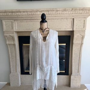 Johnny Was Ressa Front Tie Tunic